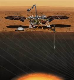 洞察號即將前往火星  要深掘火星土壤以下