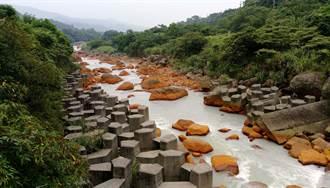 金山磺溪染白 揪出溫泉業者偷排廢水