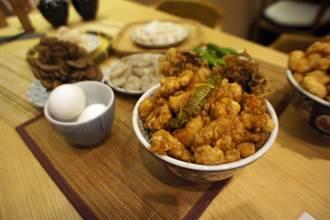 丼飯排隊名店金子半之助「錦天丼」台中華麗開賣
