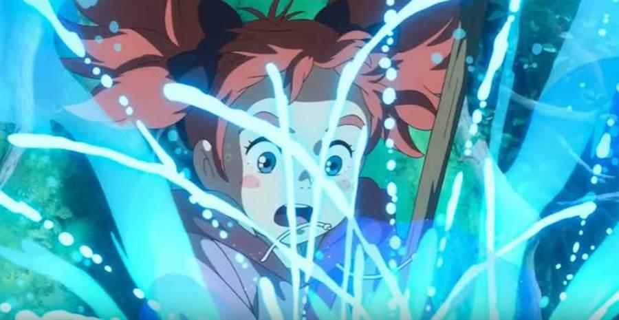 米林宏昌率領原吉卜力團隊製第一支動畫長片《瑪麗與魔女之花》。(圖/中央社)