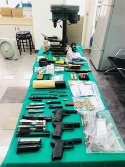 自誇「不輸菲國兵工廠」 農夫白目宗改造槍枝被逮