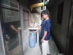 瓦斯桶被偷PO網投訴 警主動偵辦尋回失物逮人