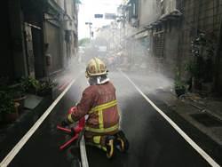 新莊汙水工程挖破瓦斯管 警消疏散85位居民