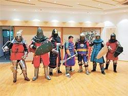 成都武士決戰羅馬 攜朴刀出賽