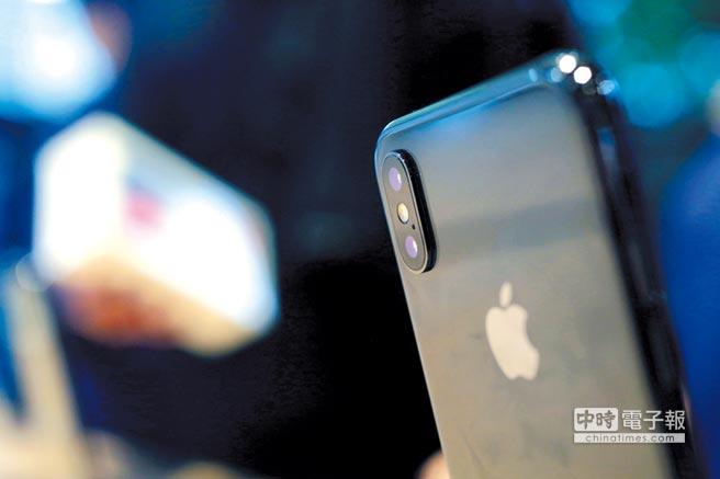 iPhone X在大陸市場搶手。圖/美聯社