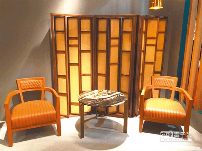 中西合併的「新东方」色彩也渐渐受到青睐。(Paulo Antunes Furniture提供)