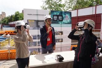 模擬工地情境 北市首創VR結合教育訓練