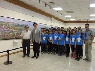 林智信舉辦「芬芳寶島」油畫特展 慶歸仁文化中心20歲