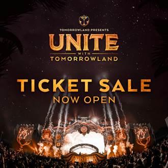 台灣絕美電音盛典 UNITE With Tomorrowland 預售票今日開賣