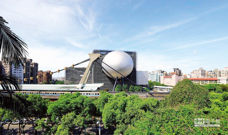 英國建築雜誌將台北表演藝術中心列為今年最值得期待建築物之一,周邊推案行情水漲船高。圖/業者提供