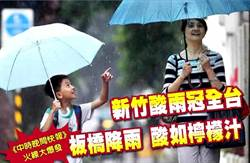 《中時晚間快報》新竹酸雨冠全台 板橋降雨 酸如檸檬汁