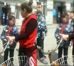 影〉女學生被繼母打成「熊貓眼」 其父親在外地務工