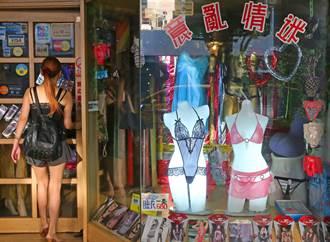 男友這樣約她逛情趣店 引發路人圍觀