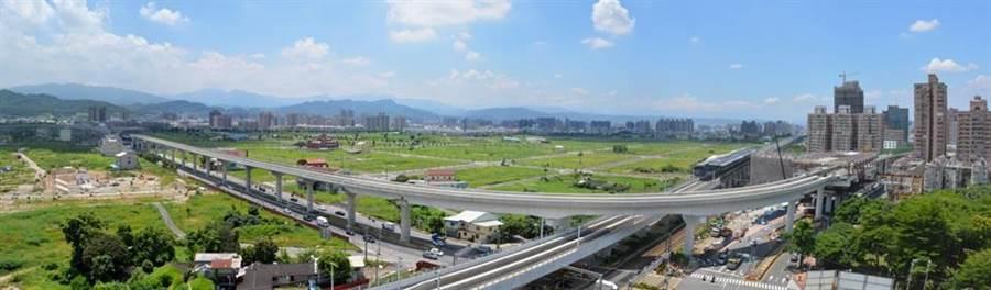 台中市軌道建設獲中央補助731億7000萬元,核定計畫數為全國之冠。(陳世宗翻攝)