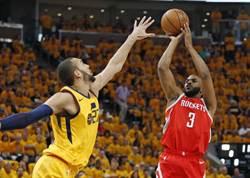 NBA》燈泡連線攜手轟51分 火箭宣告聽牌!
