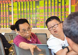 指數底部震盪 市場心態趨謹慎