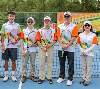 正新瑪吉斯第一金控盃全國網球賽 許育修代言