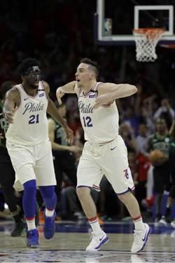 NBA》幸運星先發 七六人保住一線生機