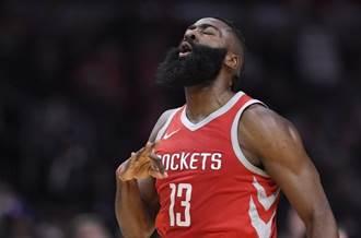 NBA》哈登:決不剃鬍 因為美髥鬍是他的招牌