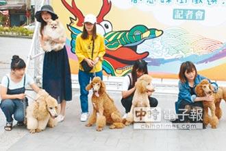 鹿港龍王祭 十犬十美創意踩街