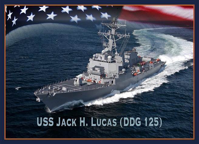 美國海軍開始建造的傑克盧卡斯號驅逐艦,將使用最新的相控陣雷達,使神盾更神。(圖/美國海軍)