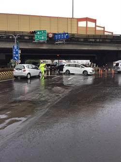台南凌晨大雨釀積水 早上多已退去