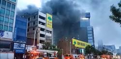新崛江商圈大火!水帶斷了又斷  「及時雨」助滅火