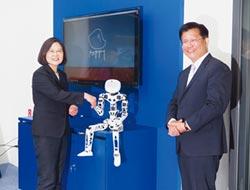 5+2產業創新之旅...蔡英文:拚智慧機械 台中最有優勢