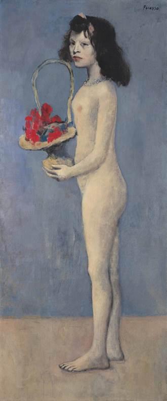 畢卡索「拿著花籃的女孩」拍出34.26億元天價!