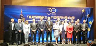 臺灣歐盟關係30年里程 科研合作效益擴散大
