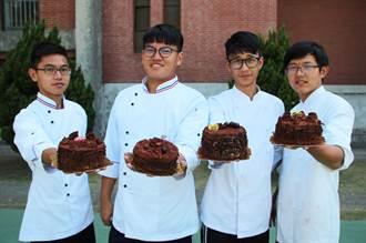 長女學生烘焙最髒的蛋糕 獻給最愛的媽媽