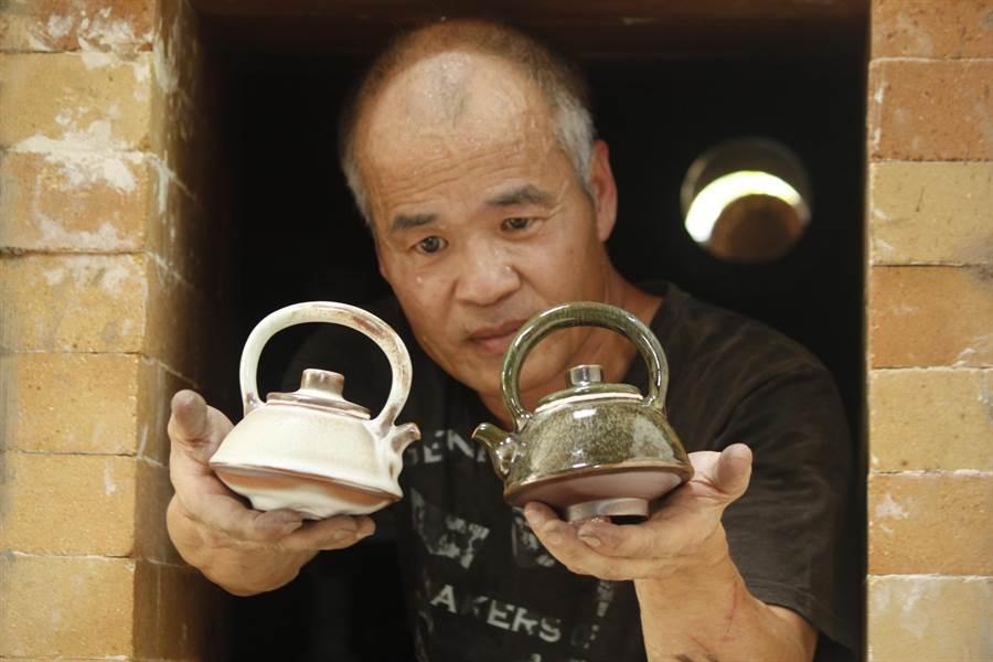 陶藝家陳金旺將於12日在台中市大墩文化中心舉辦「火舞乾坤」個展。(陳金旺提供)