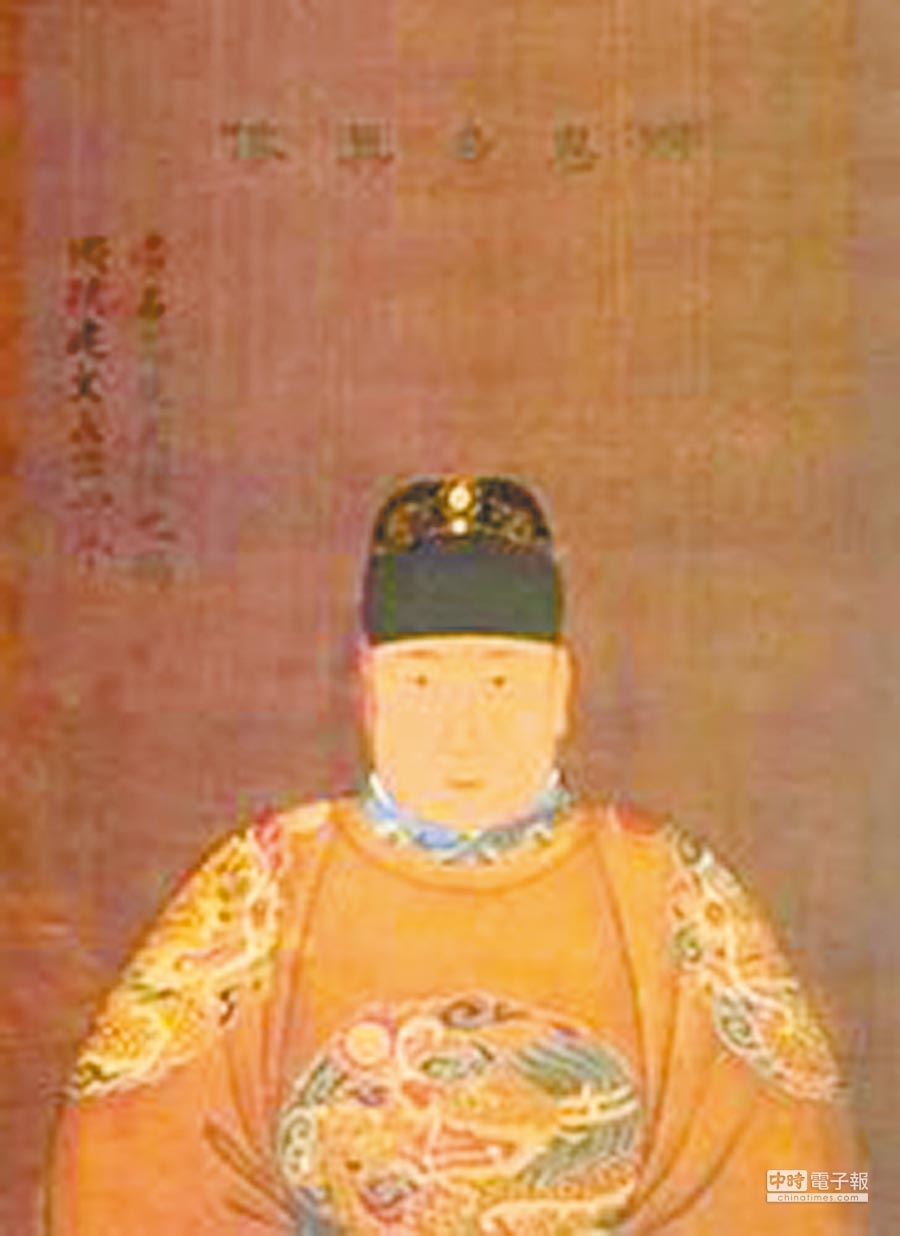 明朝第二代皇帝明惠宗。(取自維基百科)