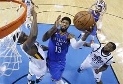 NBA》紐時:喬治強烈考慮續簽雷霆2至3年