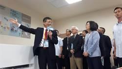 參訪新竹生醫園區 蔡英文對產業有信心