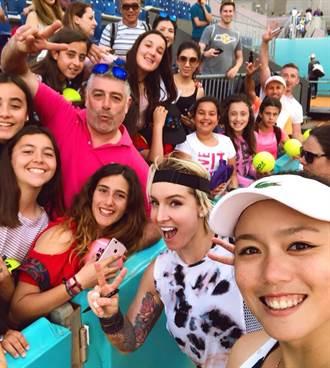 詹詠然與新搭檔勇闖馬德里女網賽八強