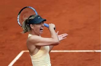 莎拉波娃拍進馬德里八強 淡談與梅娃之間恩怨
