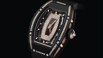 黑色陶瓷鑲鑽 ! 屬於女性腕間的極致風景