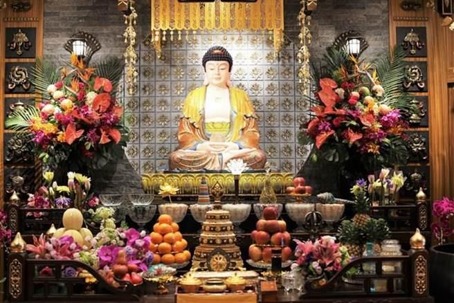佛像莊嚴喜樂/圖片來源:中華國際佛教聞修正法會