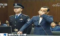 安邦前董事長涉集資詐騙 吳小暉一審獲判18年