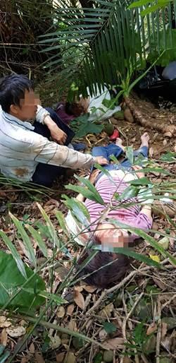 關西小巴翻落10公尺邊坡 11人散落叢林待救
