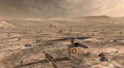NASA擬送壘球大小的微型直升機到火星上空試飛