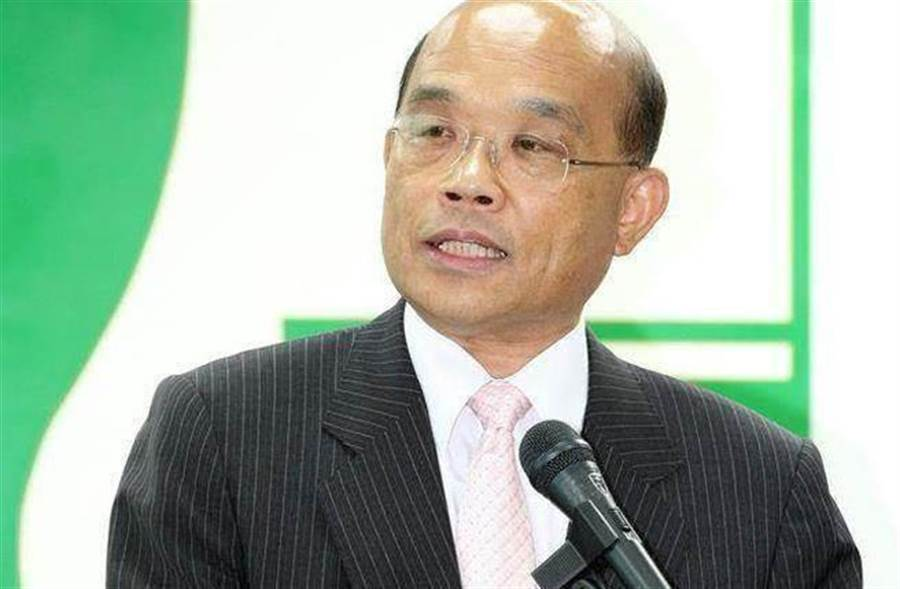 對於民進黨是否該禮讓柯P,民進黨新北市長參選人蘇貞昌表示他尊重黨中央的最後決定。(中時資料照片)