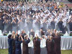 慈濟草屯戶外浴佛大典 二千餘人參與 場面莊嚴隆