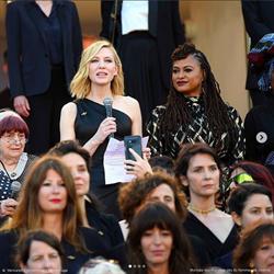 凱特布蘭琪坎城紅毯上「陳情書」 82位女星爭同工同酬