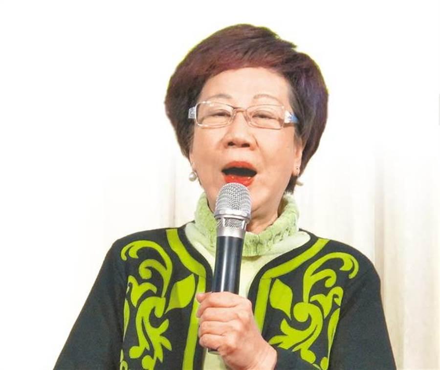 前副總統呂秀蓮。(本報系資料照片)