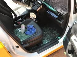 男子砸毀6計程車車窗取財 司機:要他賠車窗錢