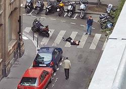 男子街頭砍人 巴黎1死4傷