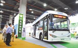 首輛中山智造氫能源客車亮相