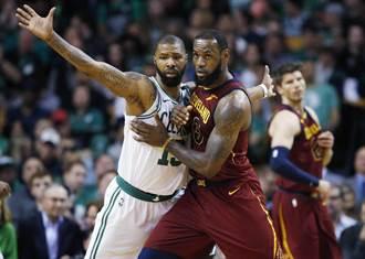 NBA》東決開打就爆冷 綠軍狂電騎士25分摘勝